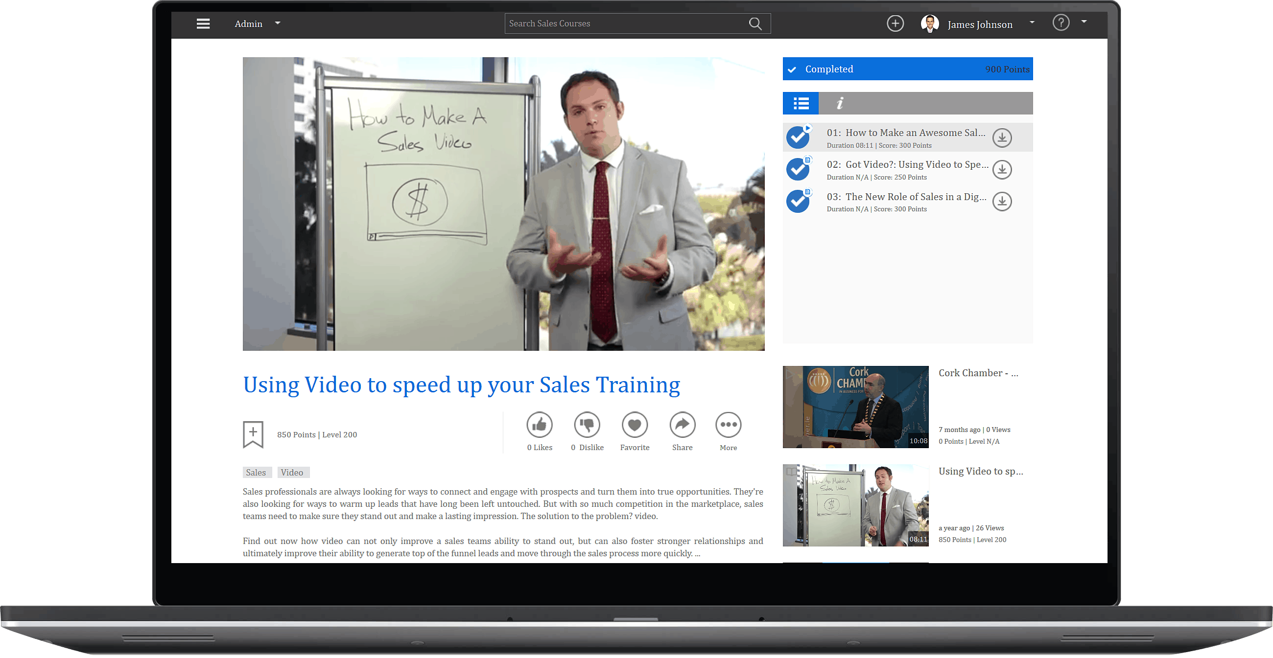 Corporate Video Training & Learning