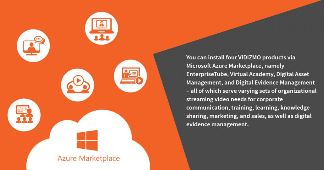 Here's how you can deploy VIDIZMO Virtual Machines from Azure Marketplace in a few simple steps